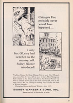 Selling Milk; from Fire Centennial Issue of Chicago Commerce, 1971
