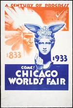 A Century of Progress; Chicago World's Fair Broadside, 1933 (ichi-06172)