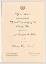 Medium Rare, Please; Centennial Dinner Program, 1971 (ichi-64232)