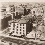 View from Court House Cupola, North/Northwest; Alexander Hesler, Photograph, 1858 (ichi-05724)