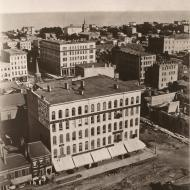 View from Court House Cupola, East/Southeast 1; Alexander Hesler, Photograph, 1858 (ichi-05736)