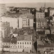 View from the Court House Cupola, East; Alexander Hesler, Photograph, 1873 (ichi-05738)