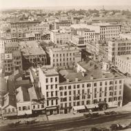 View from Court House Cupola, North; Alexander Hesler, Photograph, 1858 (ichi-05742)