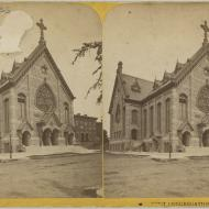 First Congregational Church; Copelin & Sons, Stereograph, ca. 1871 (ichi-22321)