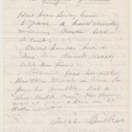 The Case of Kate Moran, 4; Rejection of Application, February 26, 1872 (ichi-63797)
