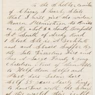 The Case of Kate Moran, 2; Letter of John Kennedy, 1872 (ichi-63798)