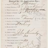 The Case of Kate Moran, 1; Application, 1872 (ichi-63799)