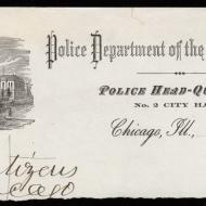 Reverse Side of Mayor Mason's Order Releasing the Prisoners, October 9, 1871 (ichi-64441)