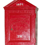 Alarm Box from the Time of the Fire (ichi-64475)