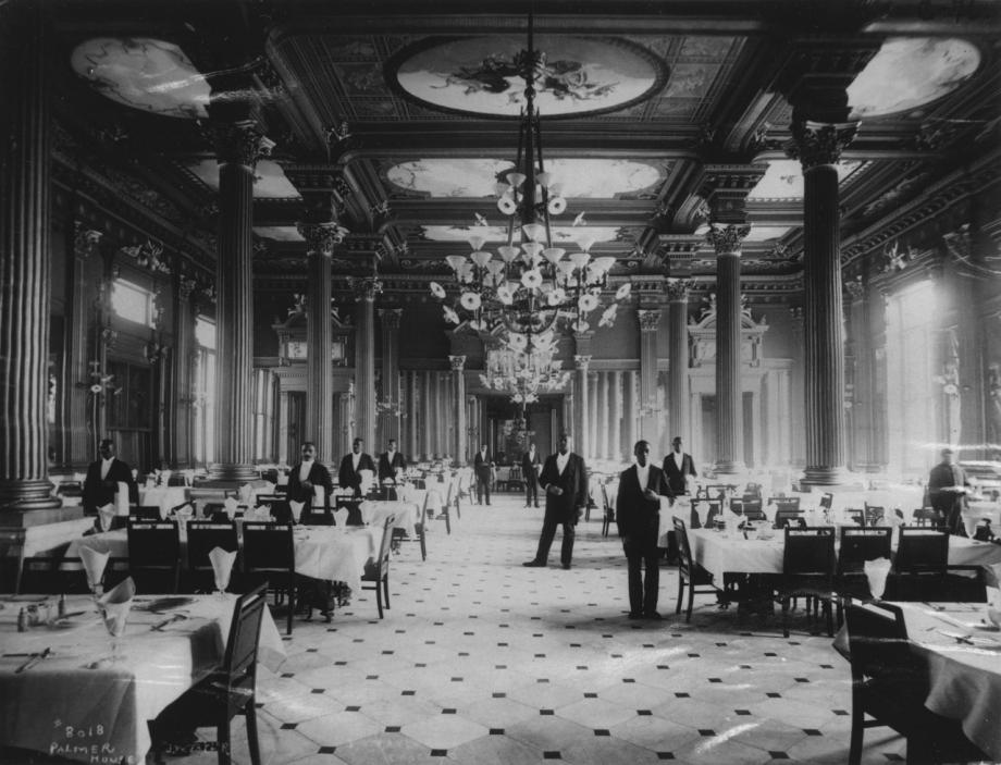 Palmer House Grand Dining Room J W Taylor Photograph