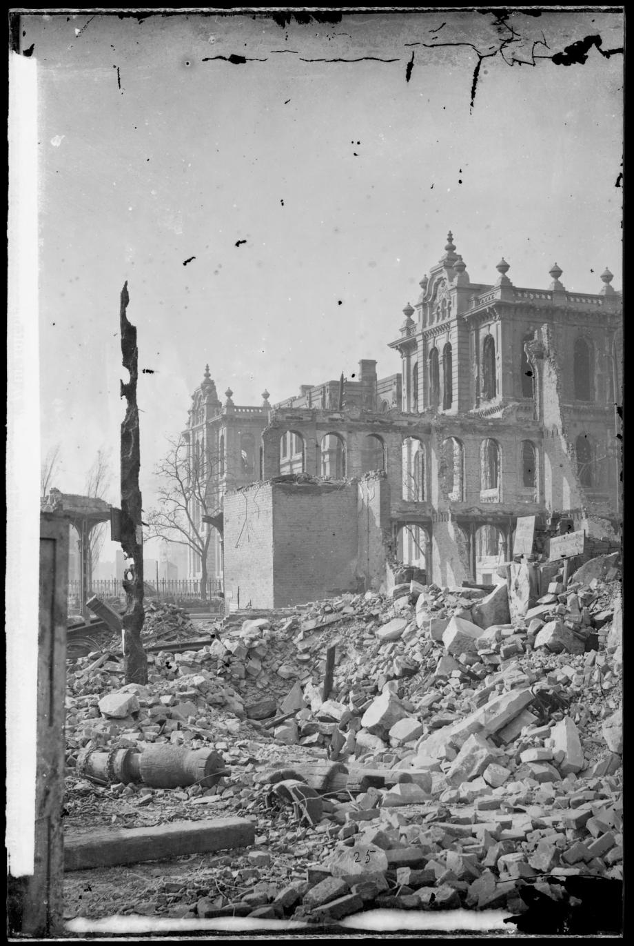 account of the chicago fire of 1871 (account of chicago fire used with permission of daughters of charity provincial archives) october 8-10, 1871 witnessed one of the defining events in the history of the city of chicago, the great fire of 1871.