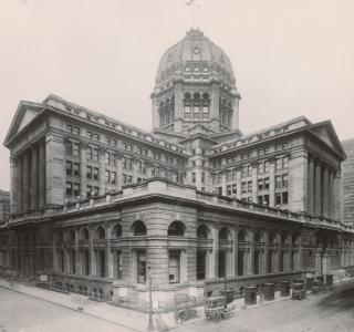 Chicago Federal Building; Photograph, 1906 (ichi-18264)