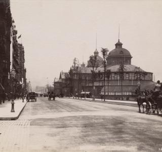 Inter-State Exposition Building; J. W. Taylor, Photograph, ca. 1890 (ichi-64394)